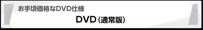 お手頃価格なDVD仕様 DVD(通常版)