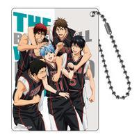 黒子のバスケ DVDカバーシリーズ アクリルキーホルダー feat.TVA 2nd SEASON ⑨誠凛バスケ部
